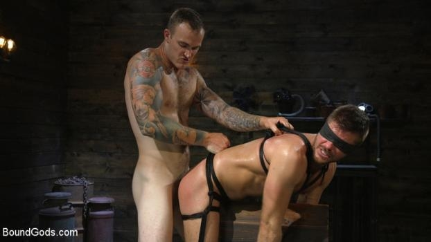 Huge-Dicked Sub Jack Andy Gets An Intense Beating From Christian Wilde