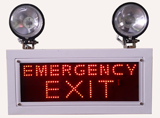 industrial Emergency Light emergency exit sign