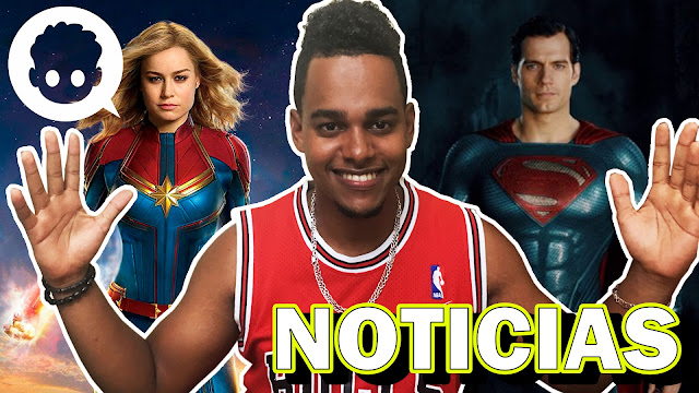 Video de Noticias 18-09-2018 - Captain Marvel, Superman y Más