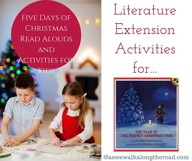 Literature extension activities for The Year of the Perfect Christmas Tree #literature #homeschooling