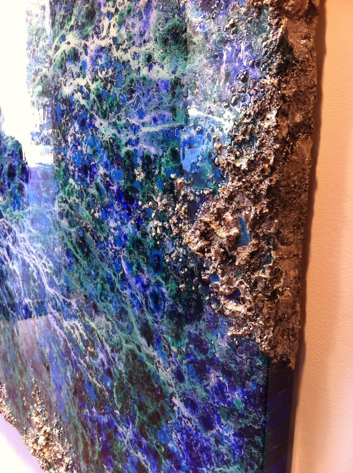 Composites qu micamente composites en la pintura villa - Pintura de resina ...
