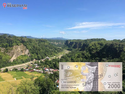 Uang baru 2017  sumatera barat bukit tinggi