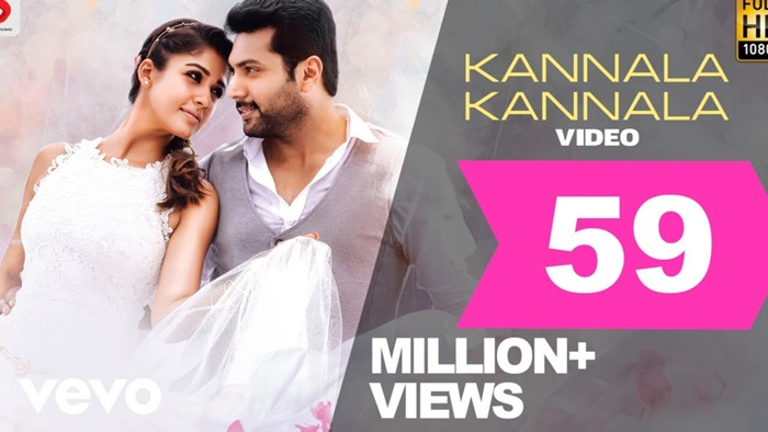 Kannala Kannala Video Song Download Thani Oruvan 2015 Tamil