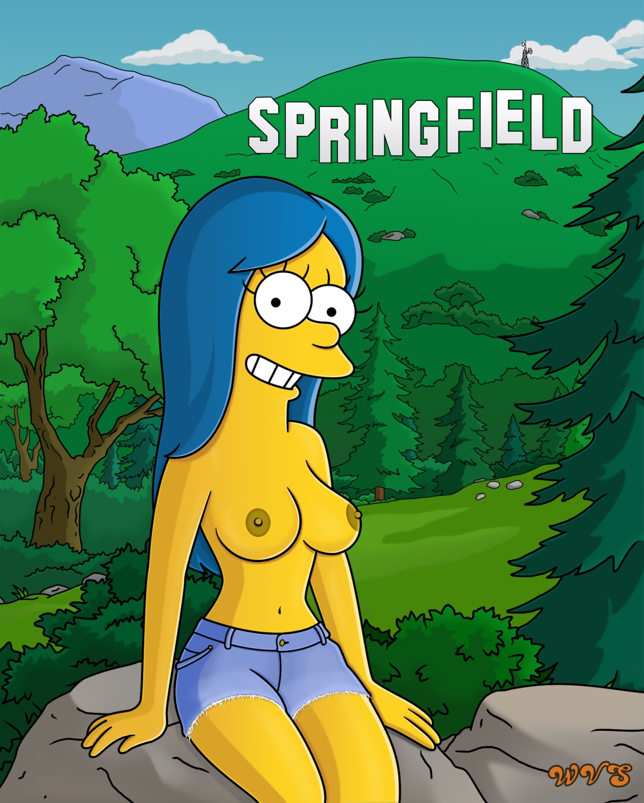 Marge simpson naked boobs