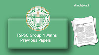 TSPSC Group 1 Mains Previous Papers