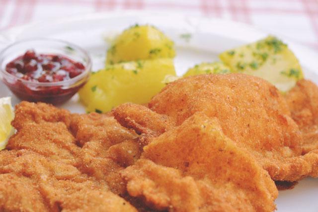 Wiener Schnitzel Austrian