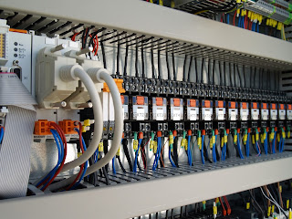 control panel interior process automation and control panel