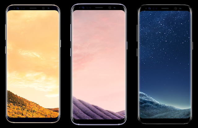 Galaxy S8 and S8+ Colors