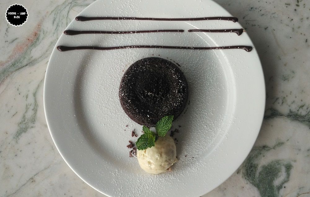 Dark Chocolate Fondant @ The Cafe Felix Experience | MG Road | Bangalore