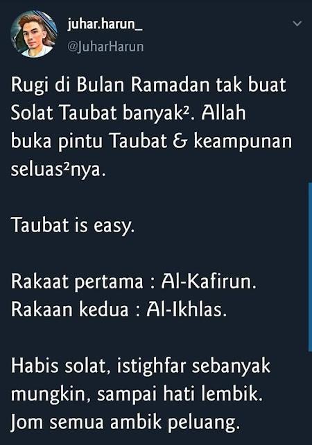Fasa dalam bulan Ramadhan, fasa puasa