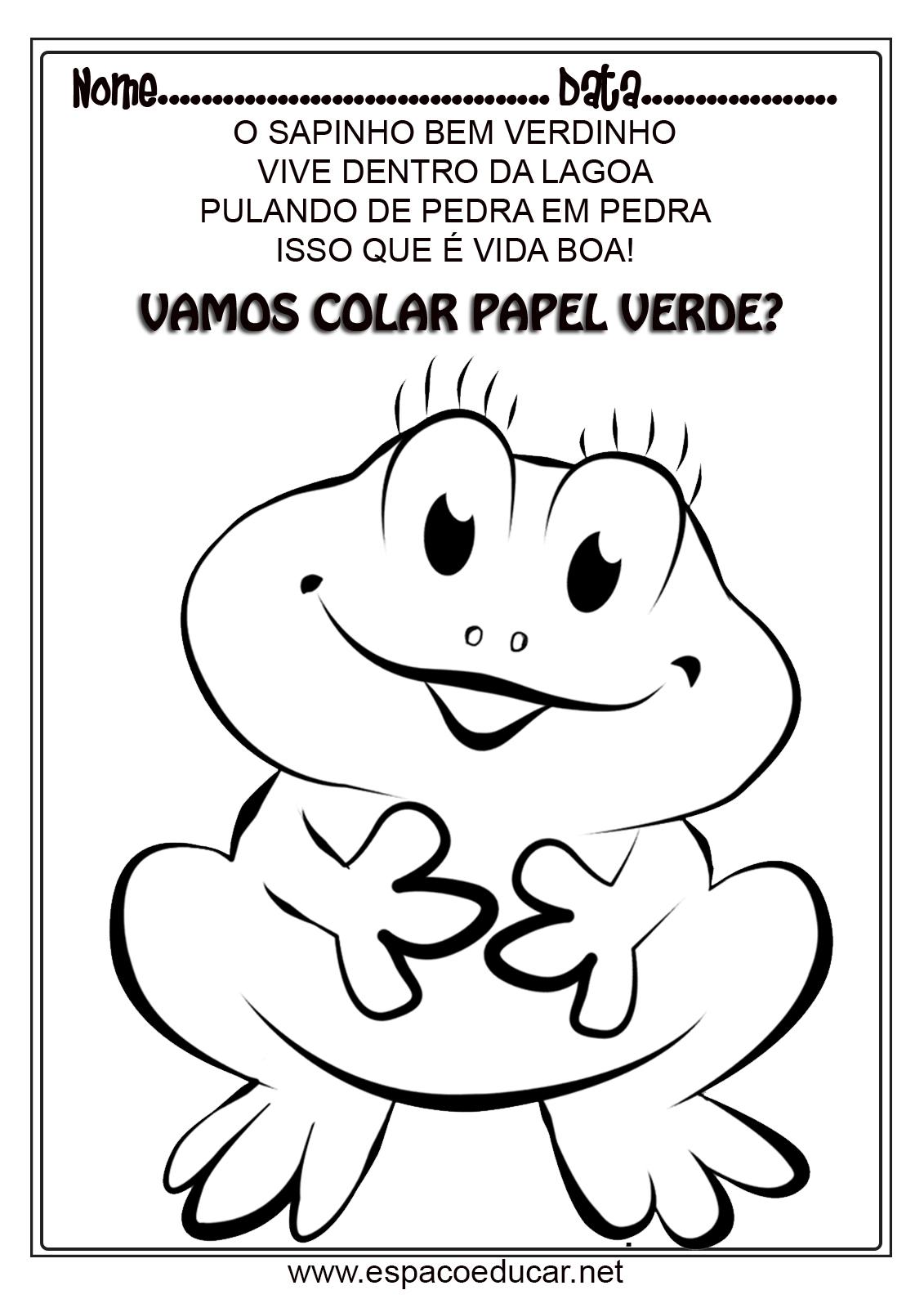 Agenda Dia 30 03 2020 Educacao Infantil Colegio Sao Marcos