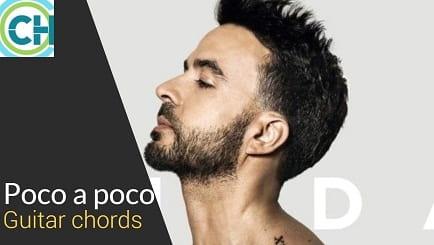POCO A POCO Guitar Chords with Lyrics ACCURATE | LUIS FONSI