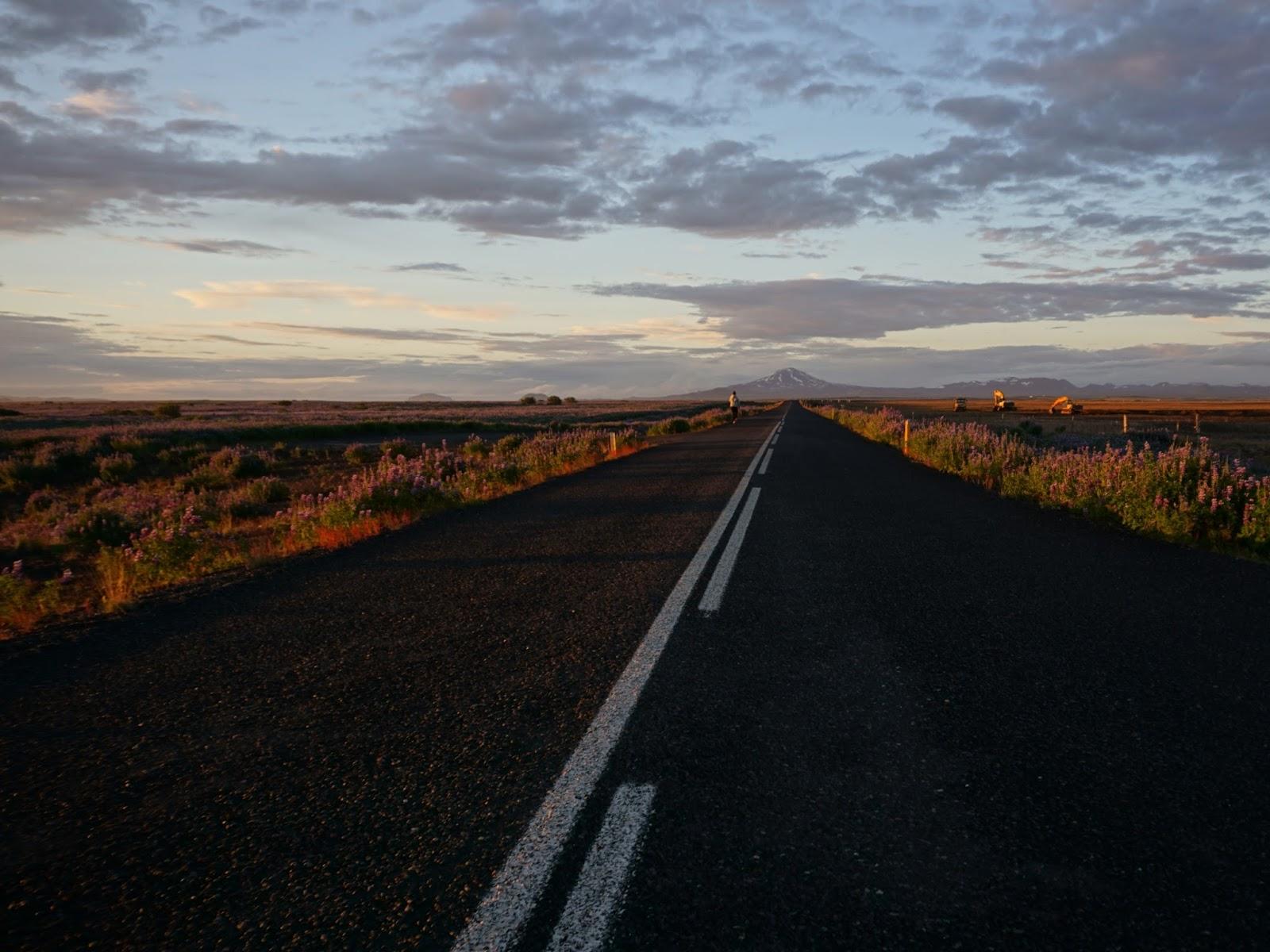 islandzka droga, Islandia, droga, południowa Islandia, szosa na Islandii, islandzkie drogi