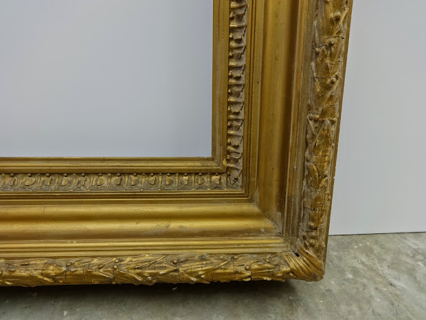 Antique Frame Large 19th Century Neoclassical