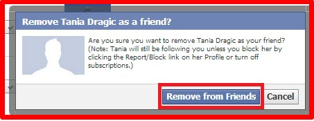 how to remove close friends on facebook app