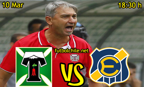 Ver stream hd youtube facebook movil android ios iphone table ipad windows mac linux resultado en vivo, online: Deportes Temuco vs Everton