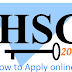 How to Apply HSC Admission 2017 online?