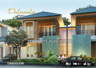 Tipe Dandelion Rumah Cluster ORLANDA Tahap 2