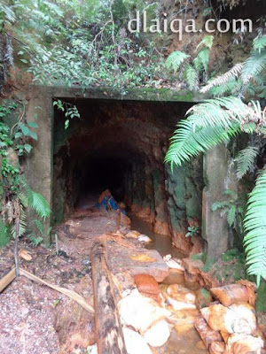 pintu terowongan di bagian lain