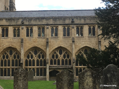 Photo of Cloister of Wells Cathedral from the cloister garth