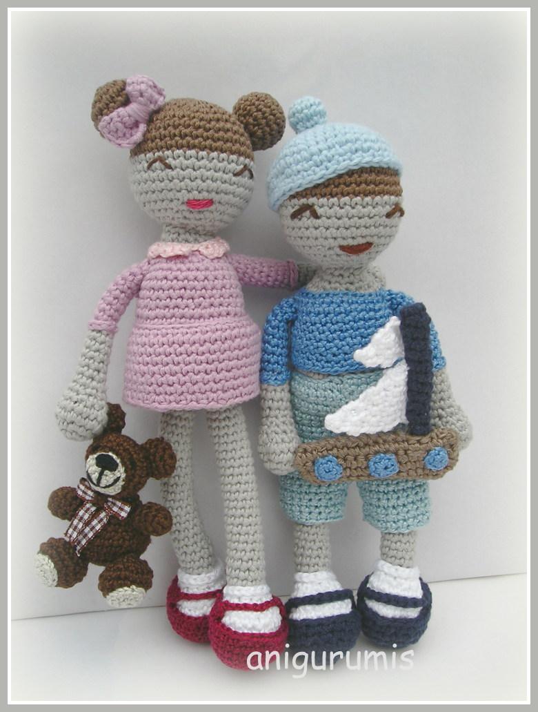 muñecos anigurumis