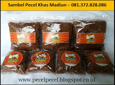 Produsen Sambel Pecel Khas Madiun Di Jakarta – 081.372.828.086