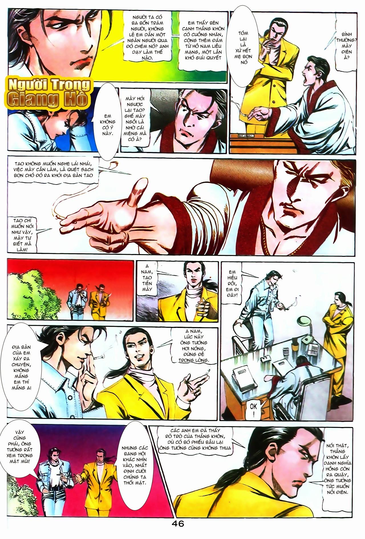 Người Trong Giang Hồ chapter 104: tuổi trẻ máu lửa trang 25