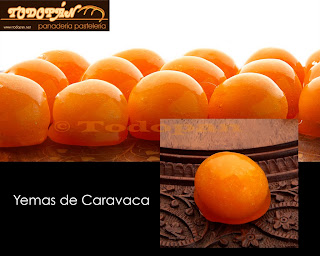Yemas de Caramelo