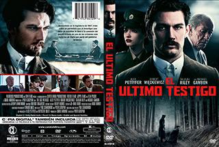 The Last Witness - El Ultimo Testigo - Cover DVD