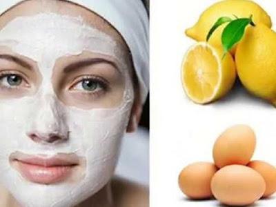 Cara Mudah Menghaluskan Kulit Wajah Dengan Masker Putih Telur Dan Lemon