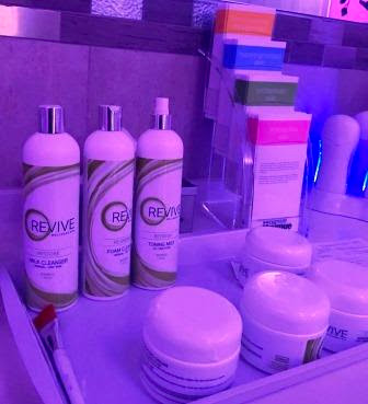 J's Revive facial products and creams