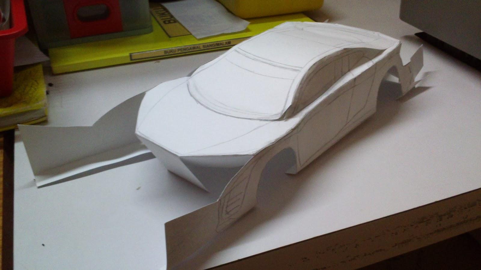 paper car project - Gecce.tackletarts.co