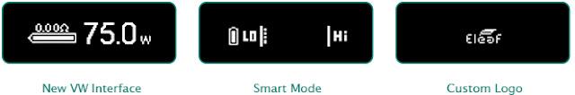 Frimware Version 1.01 For Eleaf iStick Pico