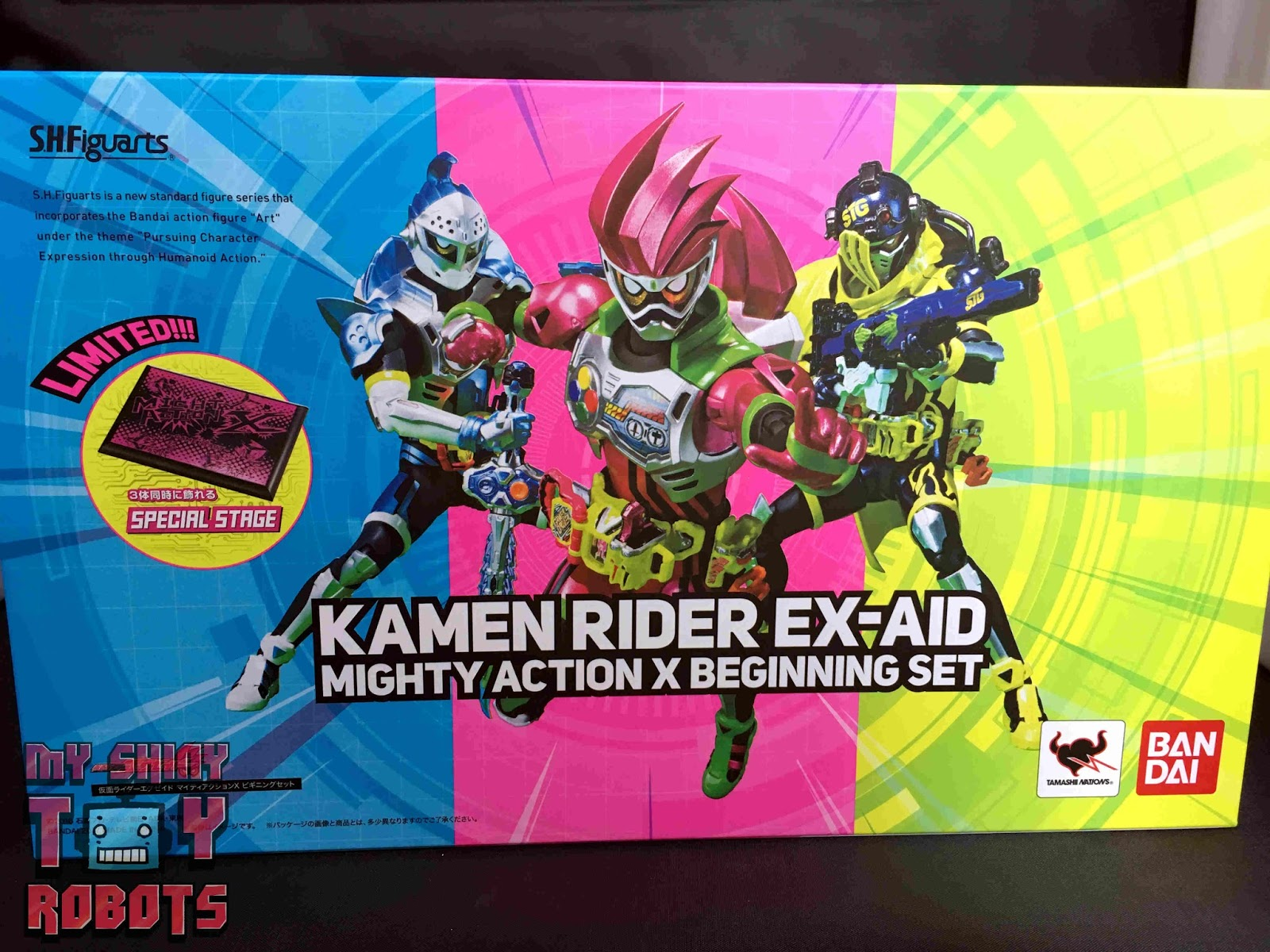 My Shiny Toy Robots Toybox Review S H Figuarts Kamen Rider
