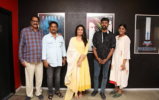 Keerthy Suresh at Mahanati Press Meet