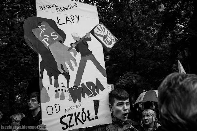 Ogólnopolski Protest Nauczycieli - Krakow, fot. Jacek Taran