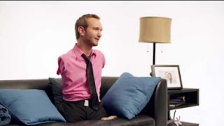"Nick Vujicic: ""I hope my story inspires others to not to give up"""