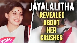 Jayalalitha Interview Going Viral-Revealed About Her Crushes