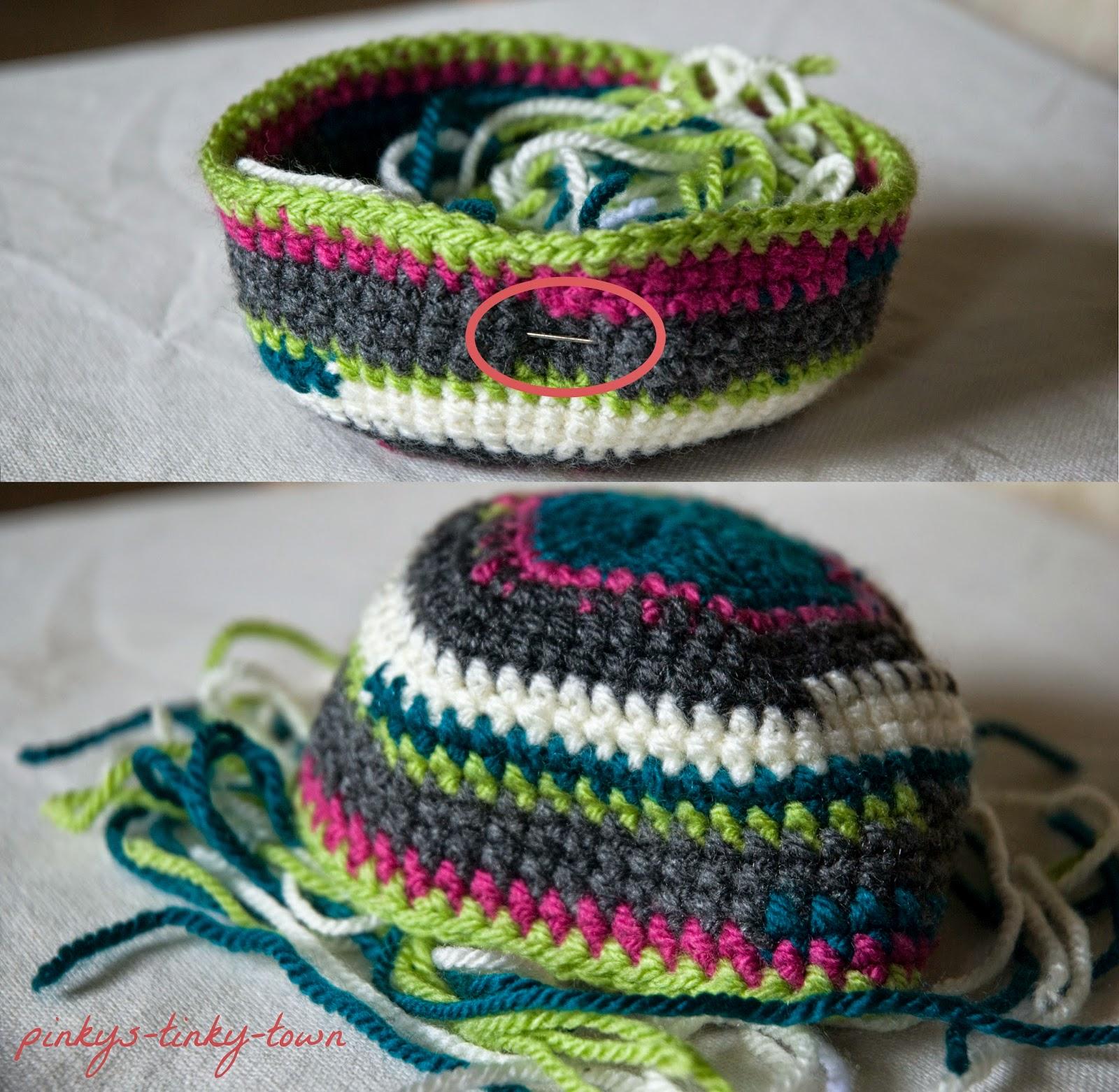 Pinkys Tinky Town Crochet Wollreste Zum Sammeln Von Wollresten