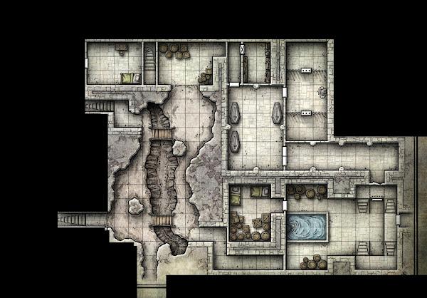Partial Redbrand Hideout under Tresendar Manor