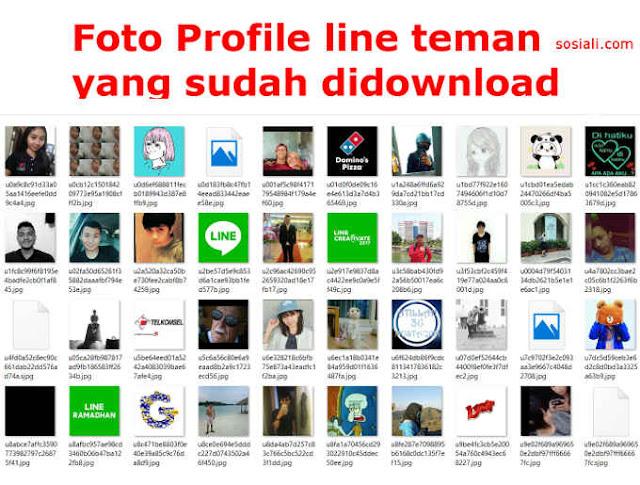Cara Download Foto Profil Line Orang Lain dengan Cepat