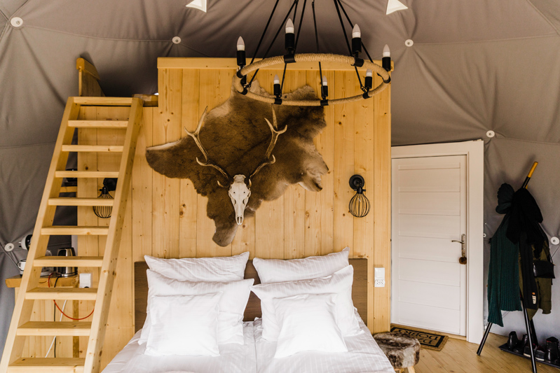 Luxury glamping in the Tatras