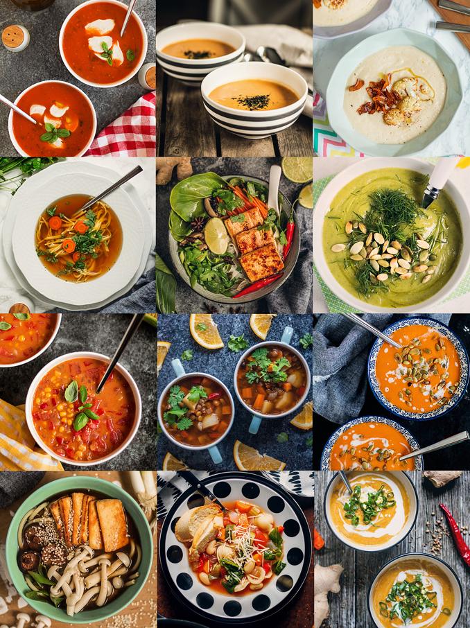Mniumniu Kuchnia Roslinna 12 Rozgrzewajacych Weganskich Zup