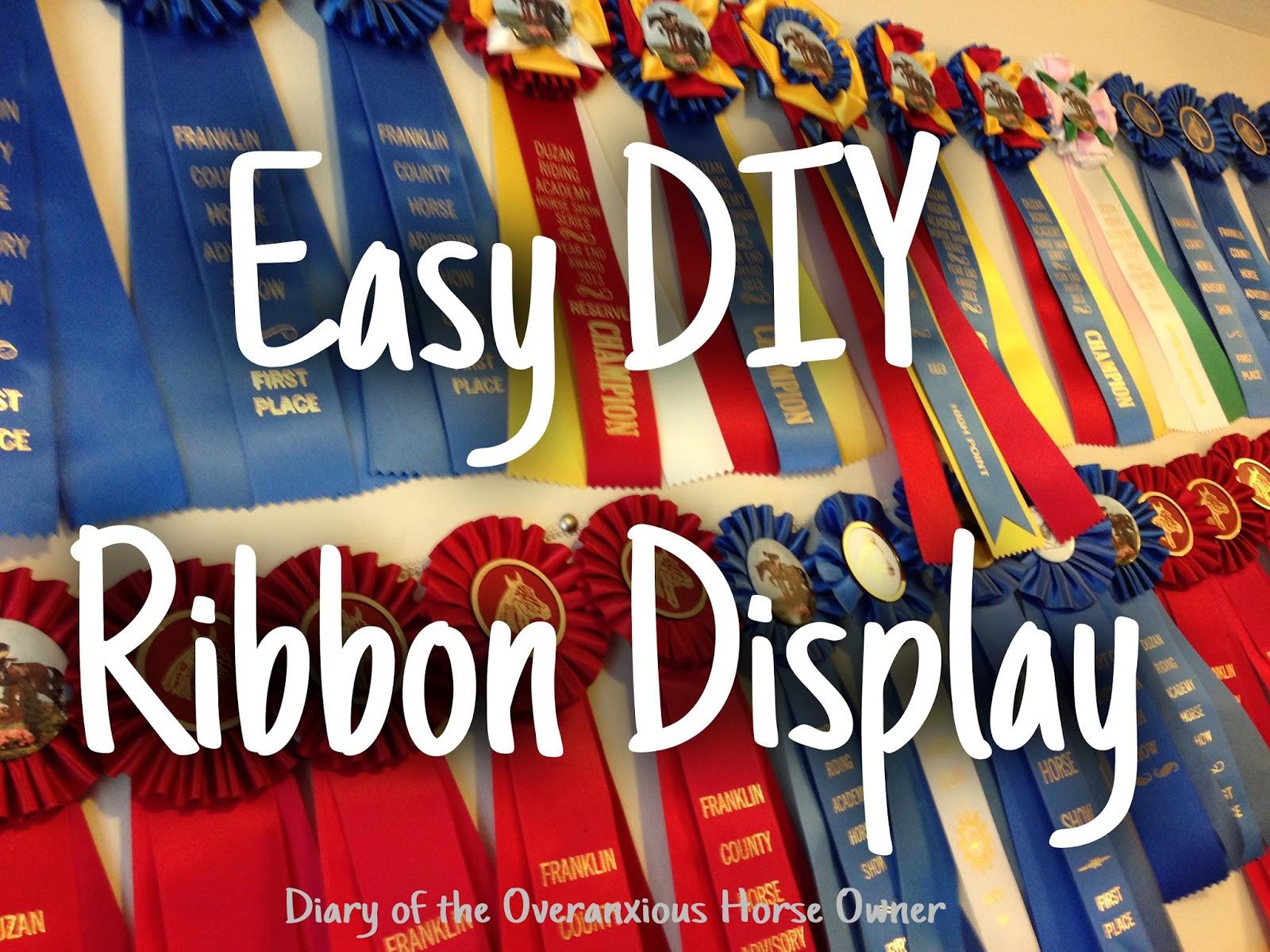 Easy Diy Ribbon Display