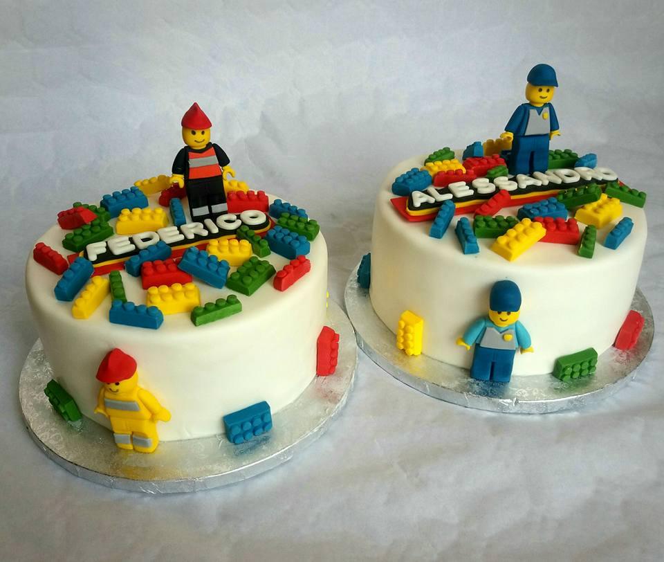 Zuccherosamente Torta Lego Lego Cake