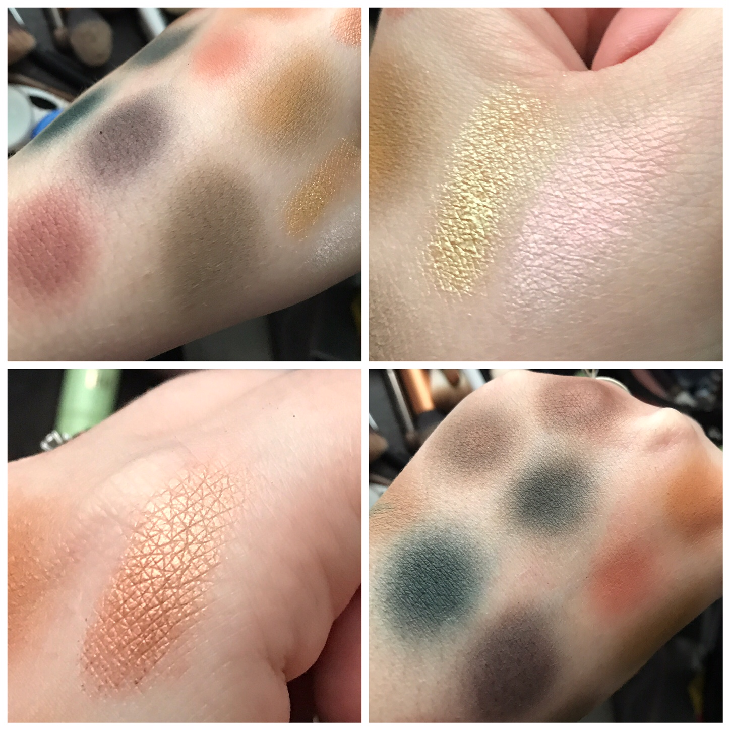 ABH Subculture brush swatches