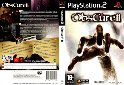 Obscure 2 PS2 DVD Capa