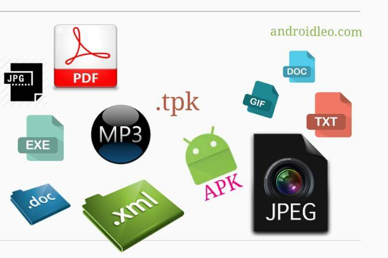 how to change file extension in android