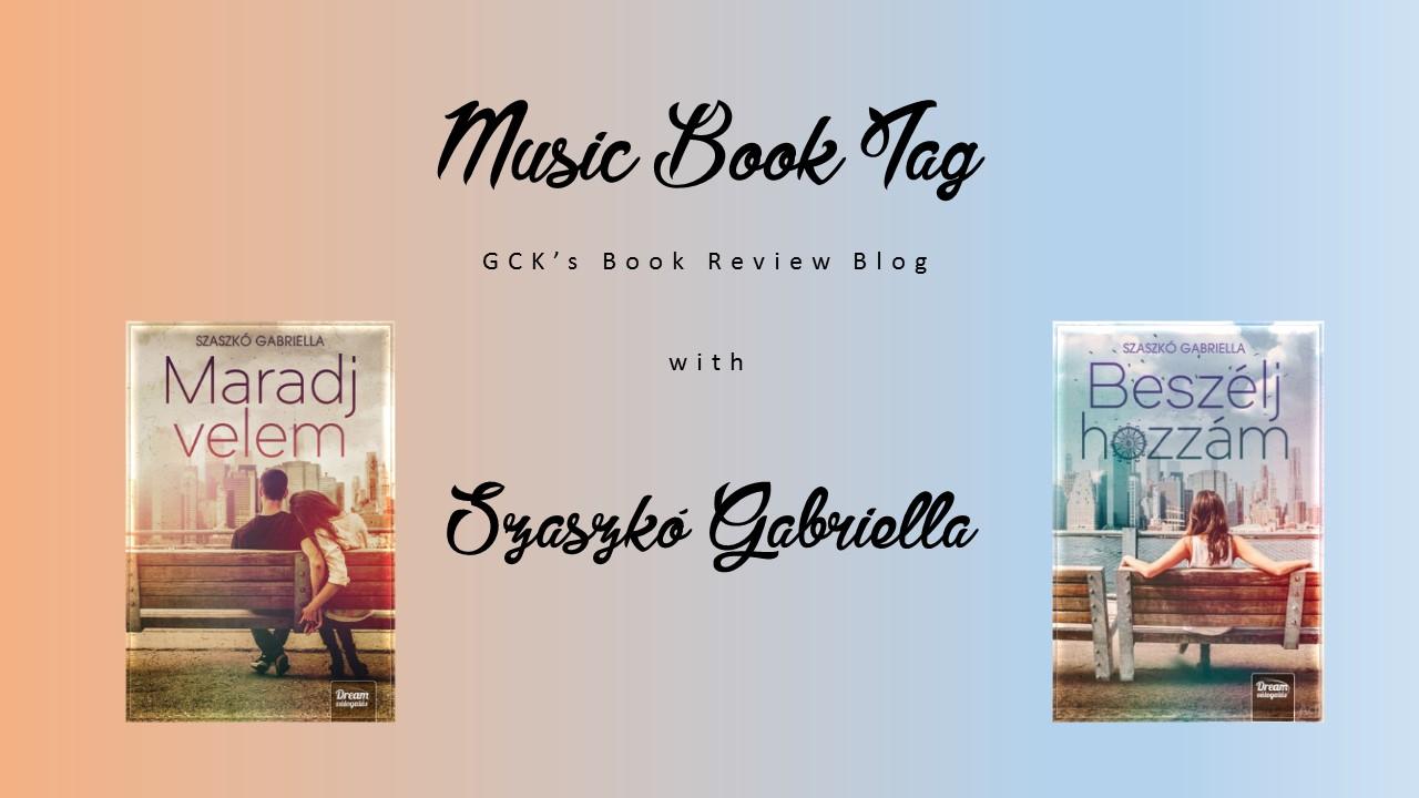 Music Book Tag Szaszkó Gabriellával