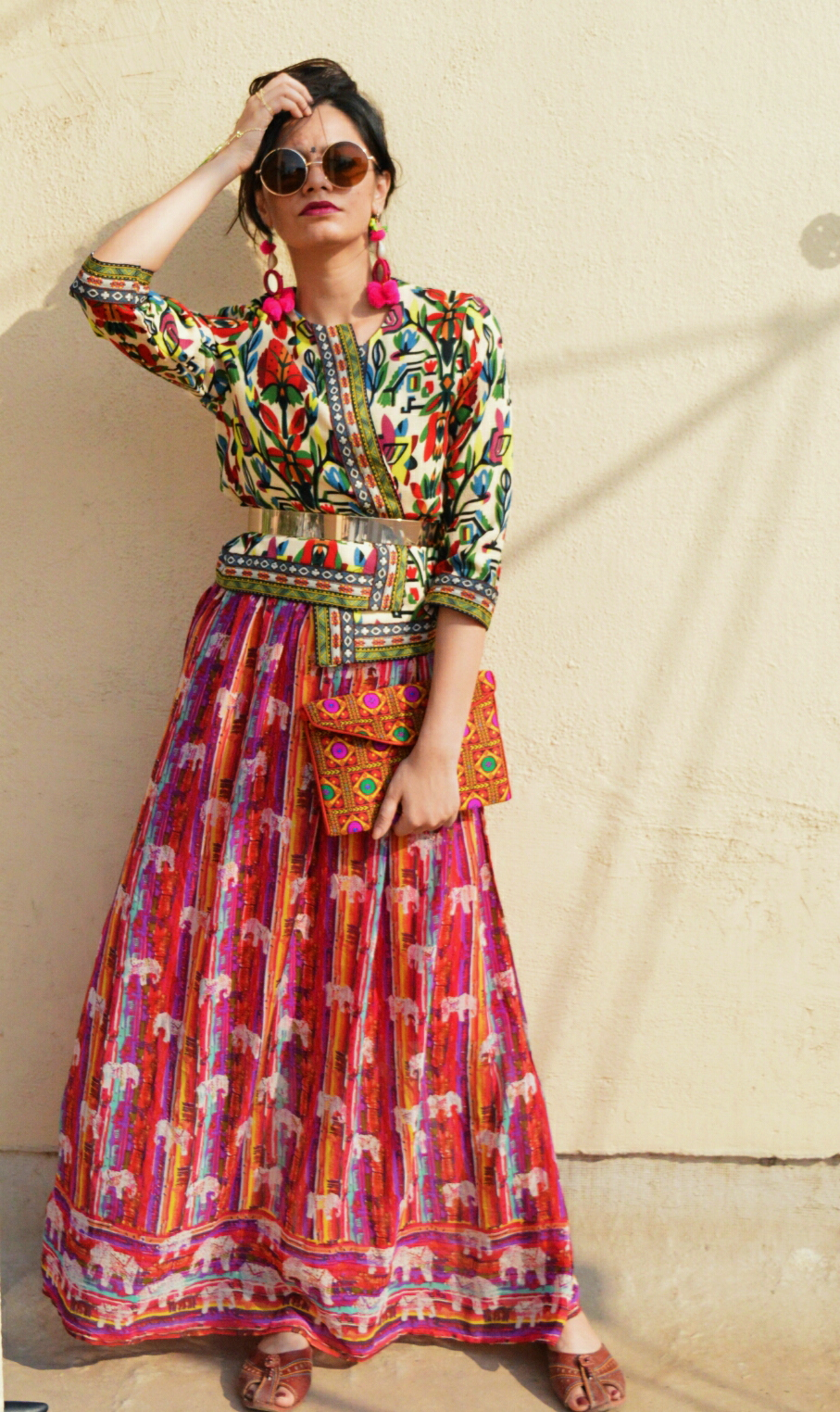 last minute diwali outfit ideas for the bohemian girl